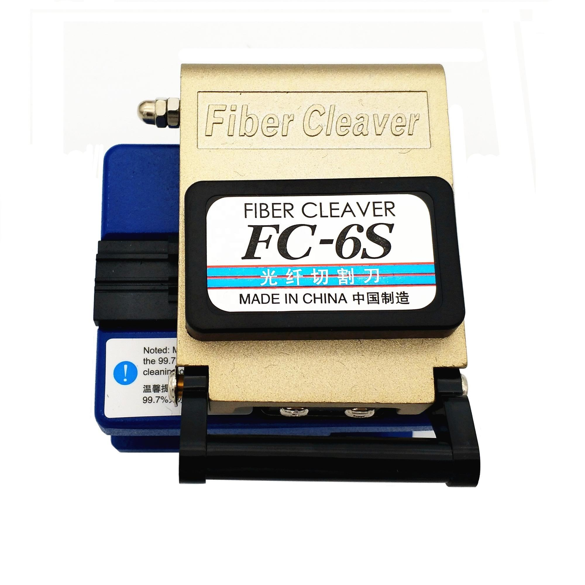 Fibre Optic FC-6S Fiber Optical Cleaver Precision Cleaver Electric Cutting Tool