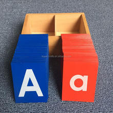 Early Learning Toys Letter A-Z Alphabets Board Sandpaper Letters alphabet