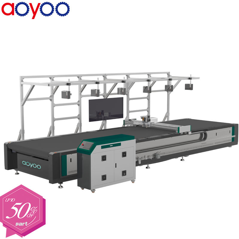 life long warranty AOYOO soundproof blanket cutting machine