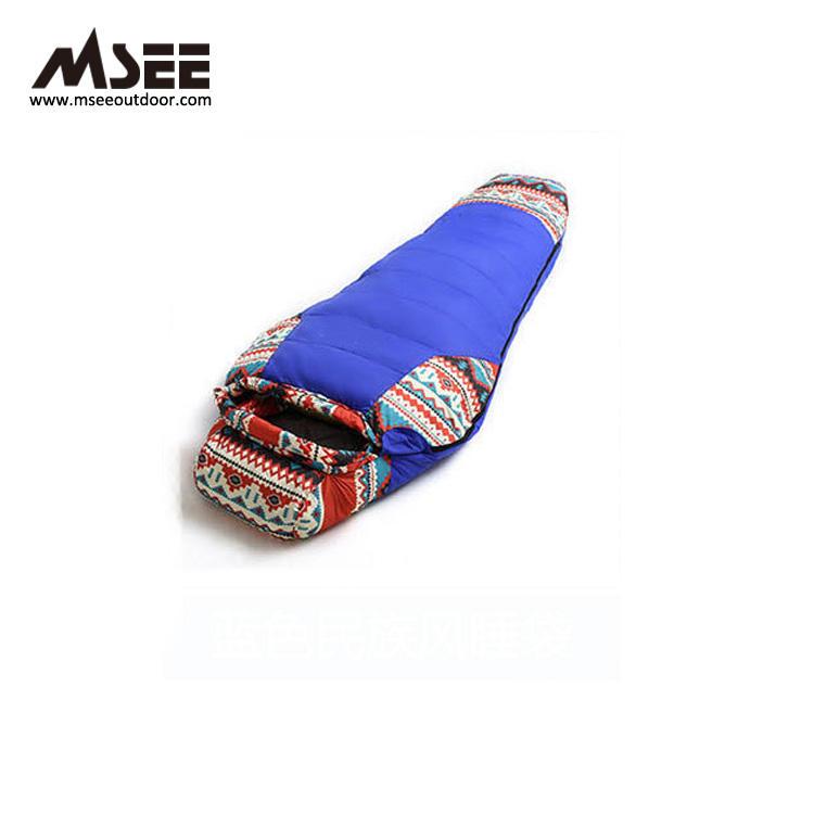 MSEE China estilo nacional compresión al aire libre masaje dormir sacos