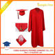 School School Red Graduation Gown Wholesale Red Disposable Graduation Caps And Gowns For School