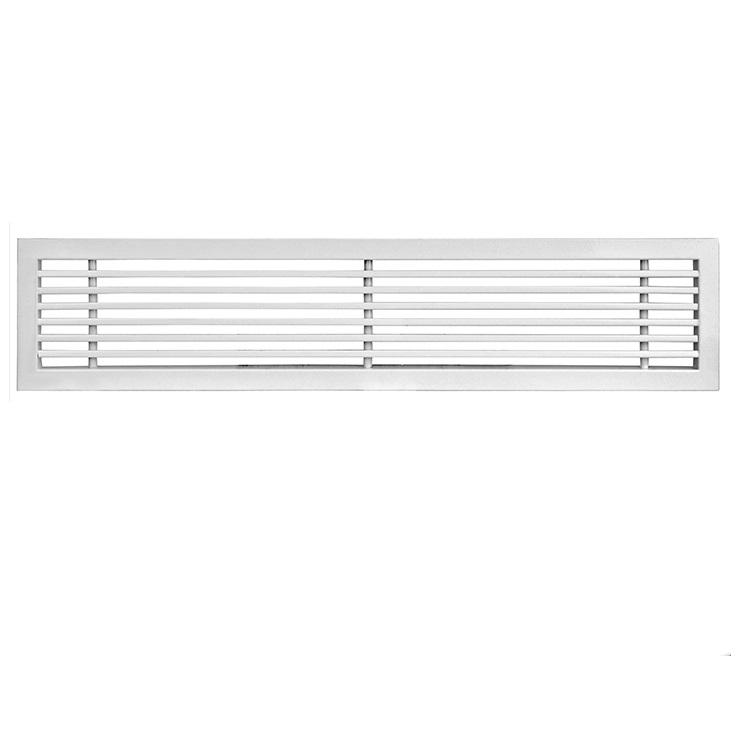 Air conditioning aluminum supply air register linear bar grille