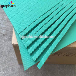 Wholesale Popular 40 Degree High Elastic Green Die Cutting A
