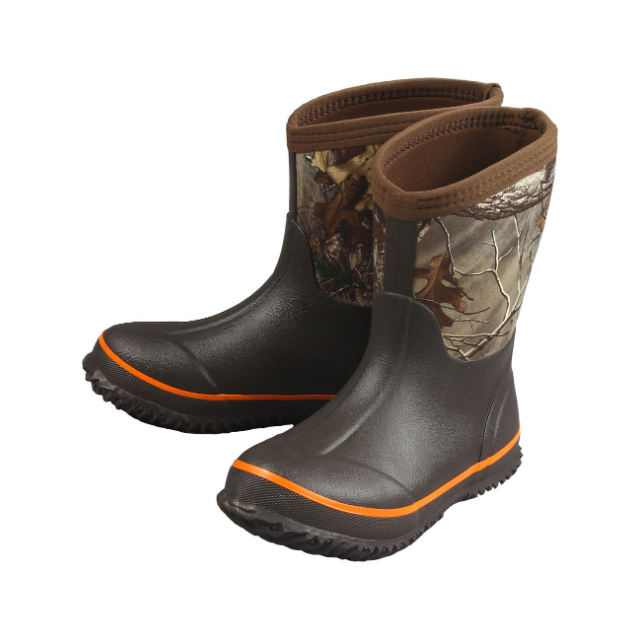 Outdoor Waterproof Hunting Boots Mens Camo Neoprene Rain Boots