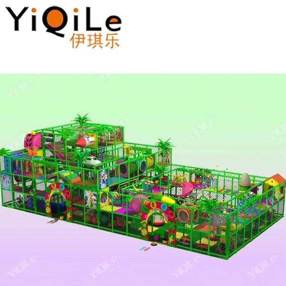 Soft play playground indoor equipamentos de Yiqile
