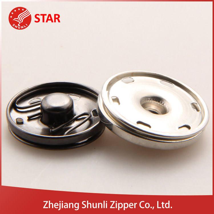 Tamaño personalizado durable encaje de <span class=keywords><strong>botón</strong></span> de metal para el cuero