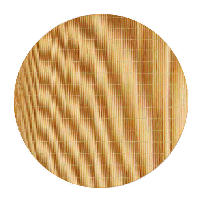 Kim Seybert Round Bamboo Placemats Brown Set//4