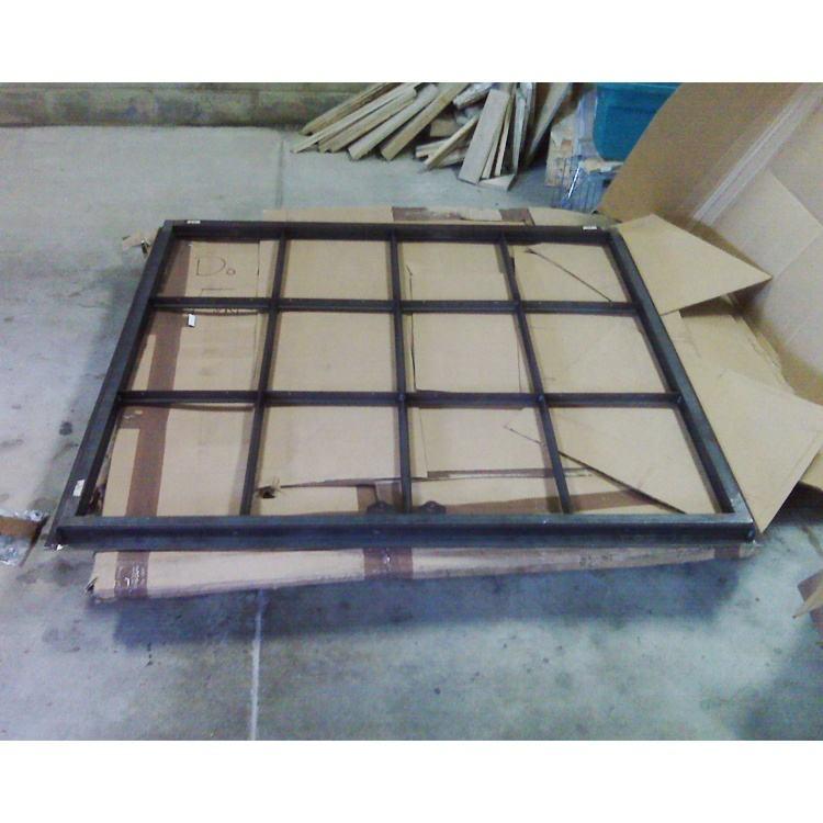 laser cutting double glazed customized color vinyl old steel frames architectural windows for a metal building