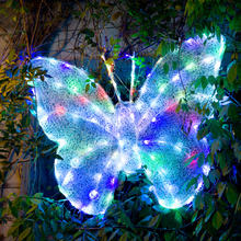 Butterfly Light for Garden Decoration