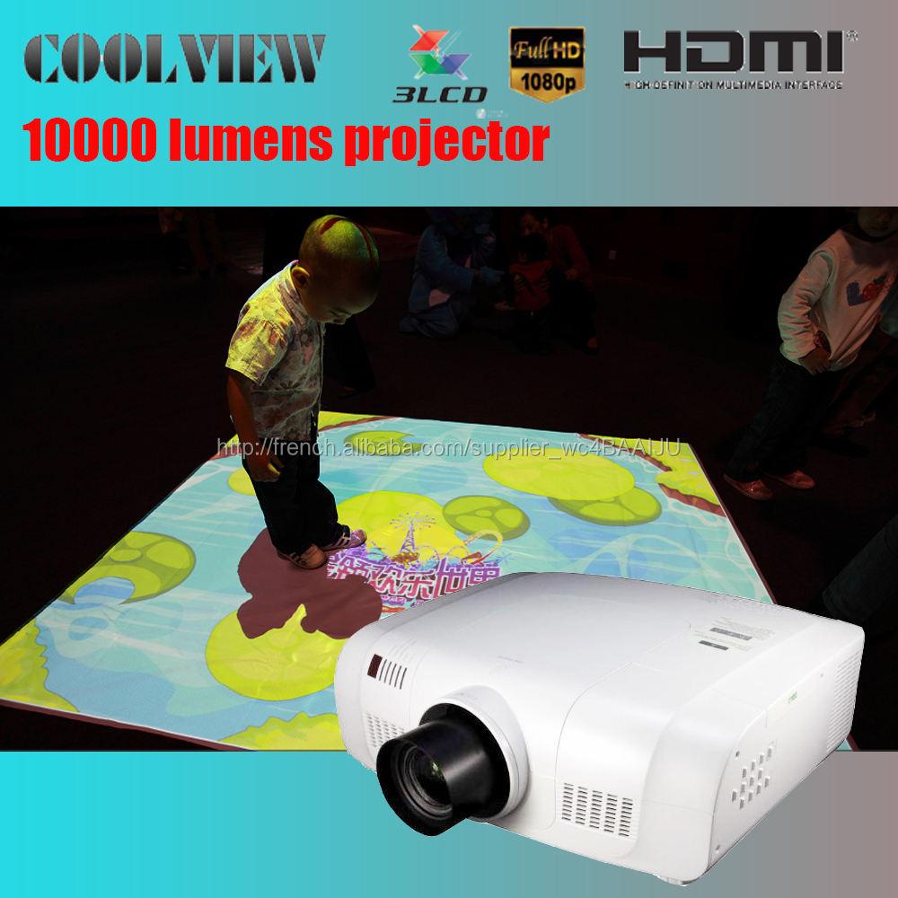 10000 lumens Full HD 1920 * 1200 pixels certificat CE preuve Projecteur de cartographie 3d