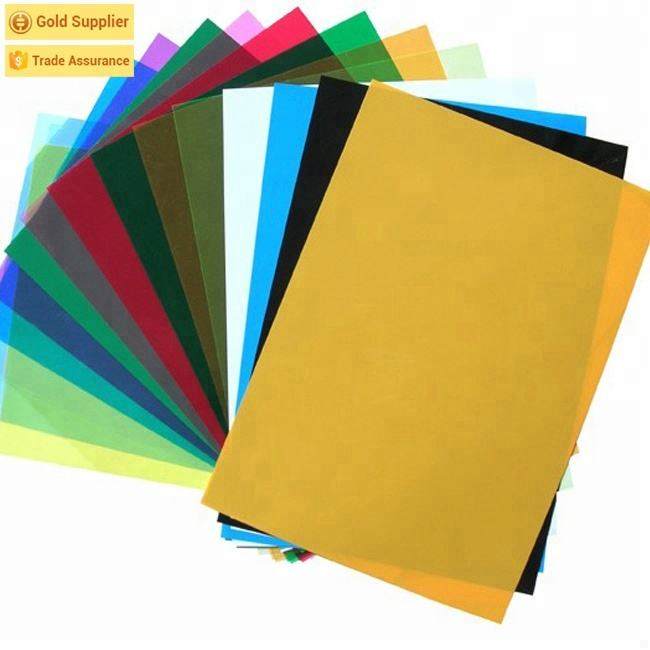 Non Toxic 100mic A4 Thermal Material Pvc Book Binding Cover