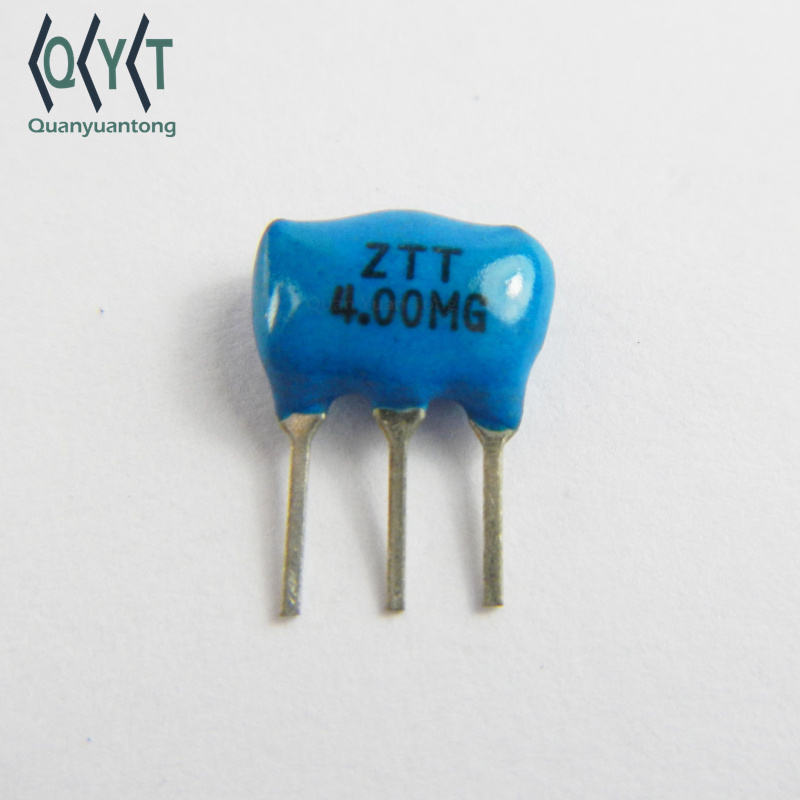 Electronics DIP 4.000 mhz ZTT 4.00MG ceramic Resonator