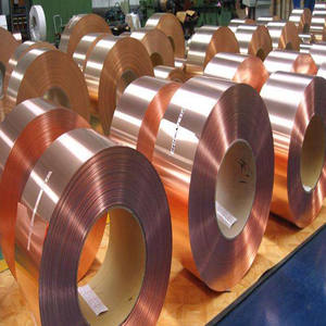 Customized length thickness pure copper strip for transformer winding