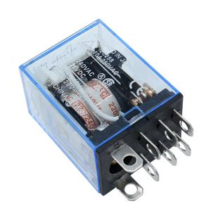 Ac 220V Coil Power Relay LY2NJ Kleine Relais Om Ron Module Dpdt 8 Pin Led Lamp Indicatie