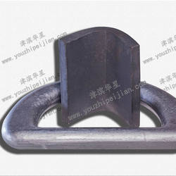 36T Forged container Lashing D Ring with clamp