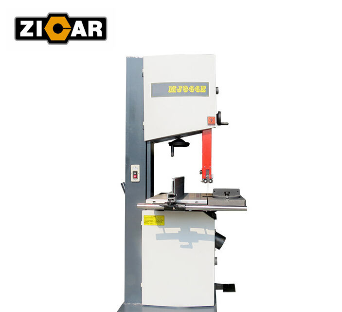 ZICAR MJ344E Wood Working Band Saw Machine