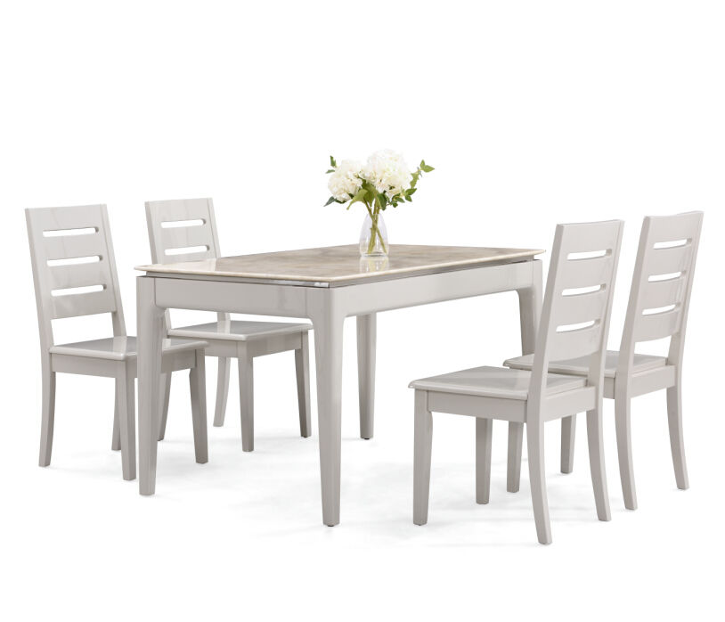 cheap dining chairs set of 4 dinning chair wood elegant dining set