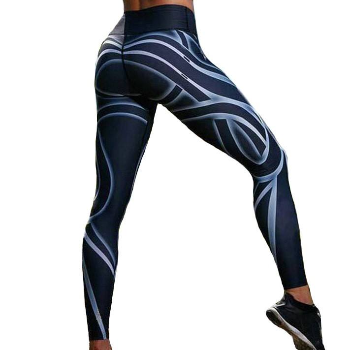 Fancy printed fashion women cotton legging yoga pant wholesale cheaper OEM leggings