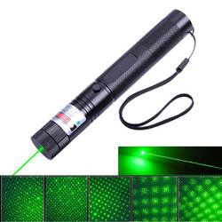 High Power multi color 50mW Hunting Red Blue Green Laser Pointer Jd 303 with rechargeable battery