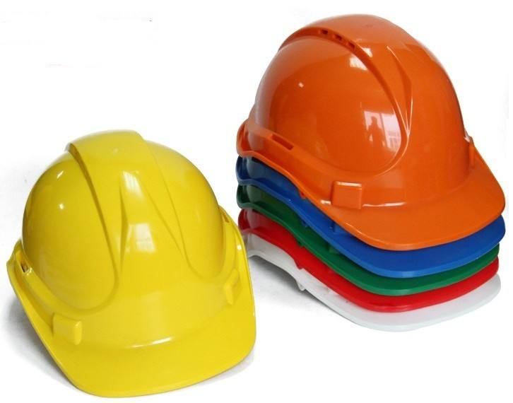 ABS PE HDPE work protection Thicken crush resistance construction safety helmet hard hat