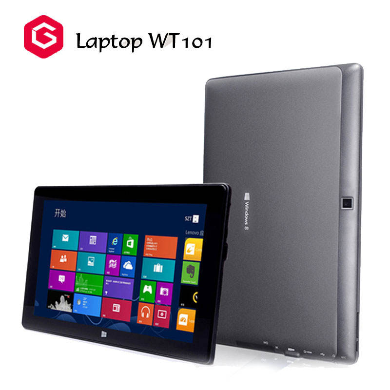 10.1 inç laptop Intel Z8350 <span class=keywords><strong>1280</strong></span>*<span class=keywords><strong>800</strong></span> 4G + 64G tablet PC klavye ile Win10 & Android 5.1 laptop