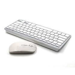 high quality portable 2.4g wireless keyboard and mouse combo set