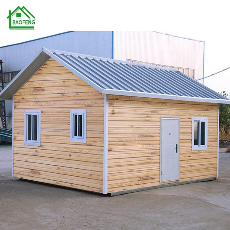 Economical industrial steel structure prefab beautiful living house