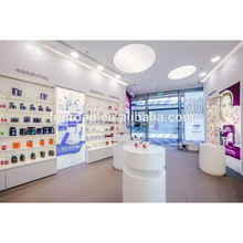 Cosmetic Shop Decoration with Cosmetic furniture and Lightbox