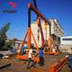 Warehouse material lifting motorized travelling 5ton gantry crane price
