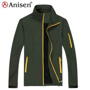 customized breathable outdoor waterproof softshell jacket high quality sports jacket for men