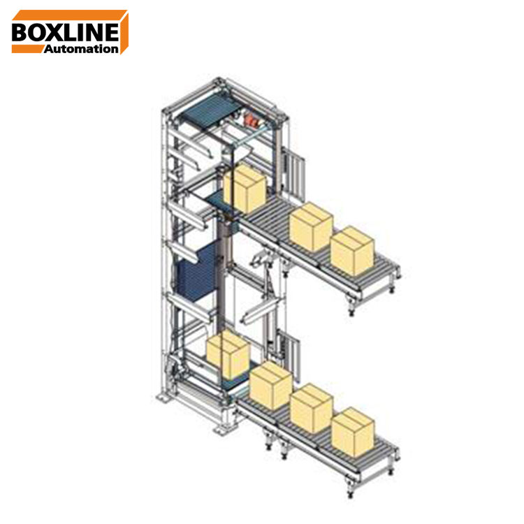 C type Continuous vertical cargo lift conveyor system