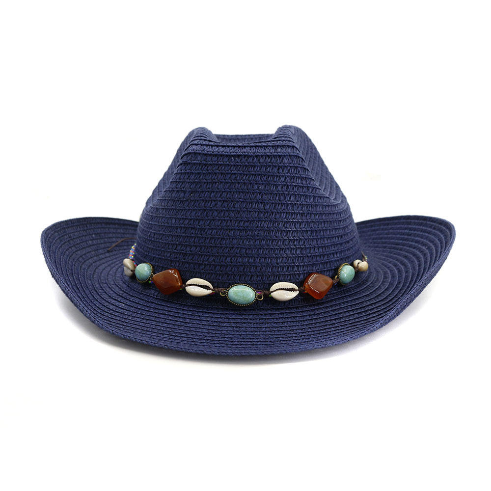 Western Red Black and White Serape Hatband