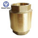 Green Guten-Top 1/2 Inch Brass Check Valve,Plastic check valve with all brass,Vertical ball check valve