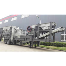 Portable Stone Crushing Line Plant