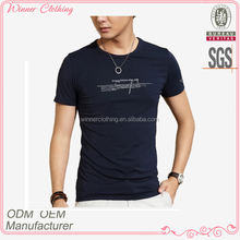 boy fashion outdoor/sports new model t shirts with o-neck and print