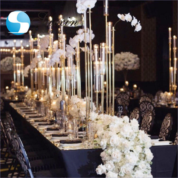 New crystal walkway stand wedding aisle decorations pillar for weddings decor