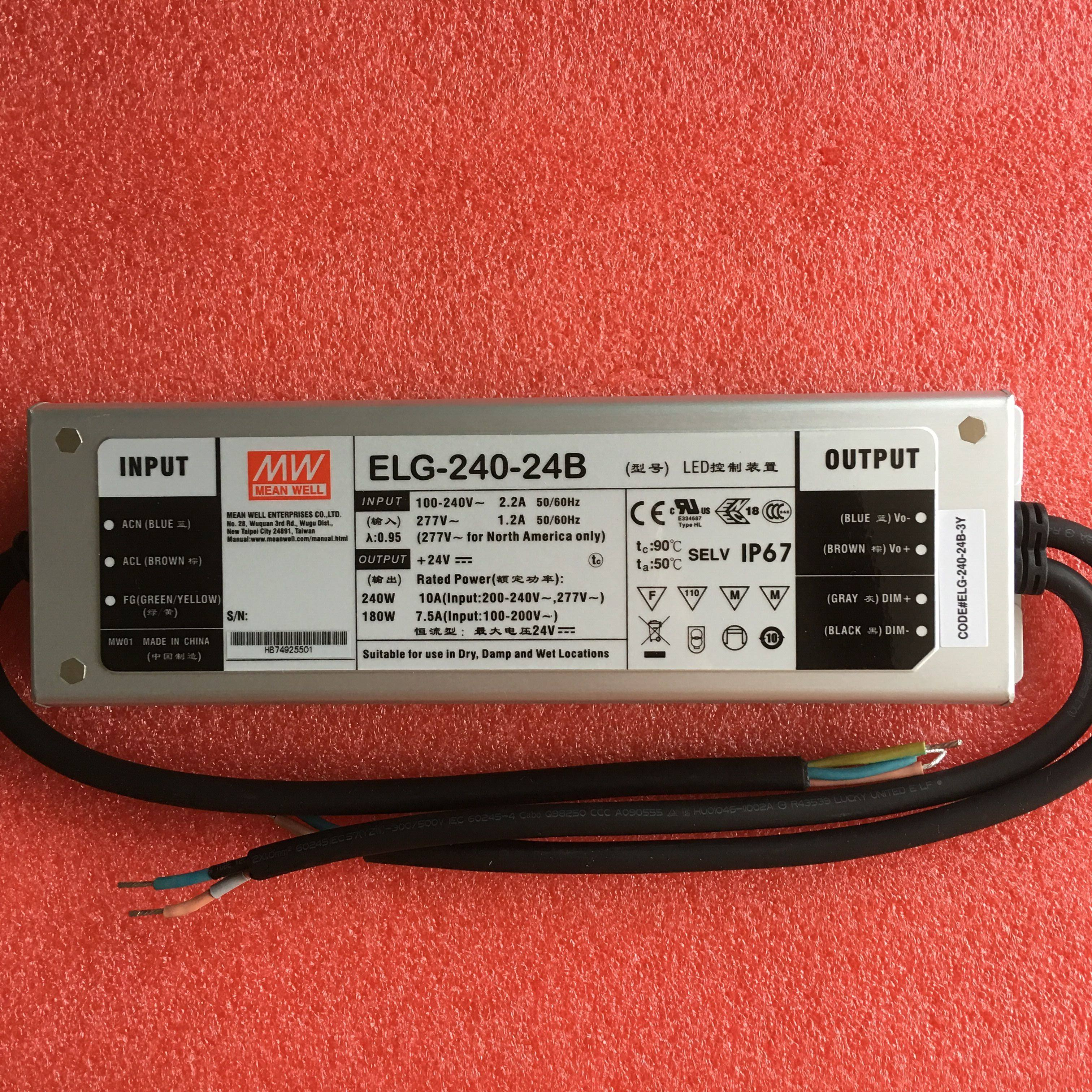 LPV-100-48 LED Fuente de alimentaci/ón 100W 48V 2,1A ; MeanWell