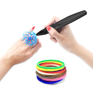 2019 New Touch screen 3D Printing pen with Micro USB charging, Birthday gift super slim 3D Pen for Educational Kid Toys
