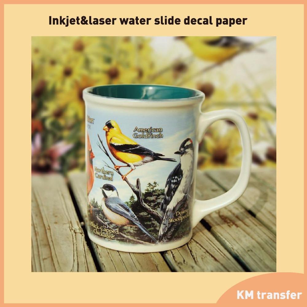 20 Sheets Premium Waterslide Decal Paper Inkjet CLEAR Water Slide Decal Tran