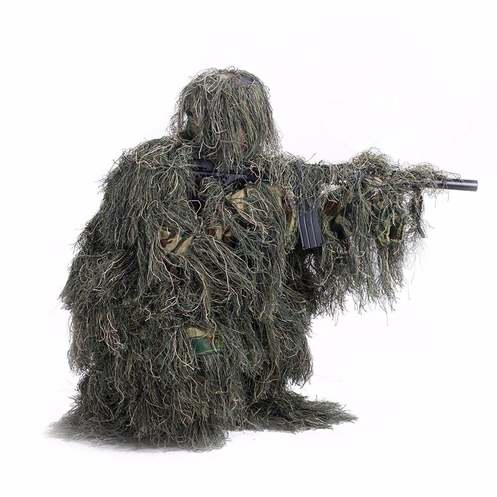 Ghillie Suit 3D Leafy Hunting Clothing