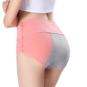 Hot selling anti sliding sideways functional panties underwear women