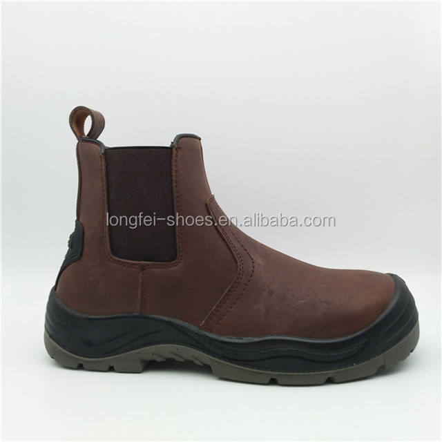 Cow nubuck leather men china low cut work boots