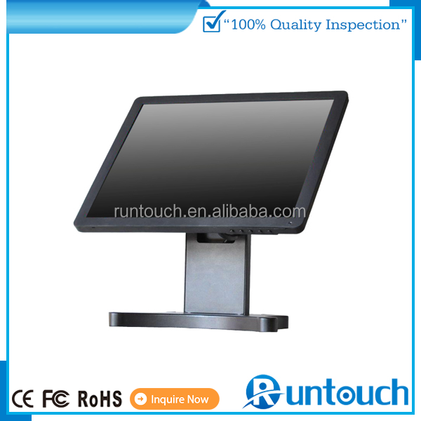 "Runtouch RT-1500 2015 POS DVI,USB Interface Type and 55"",32""-65"" Screen Size Display Monitor Screen Touch"