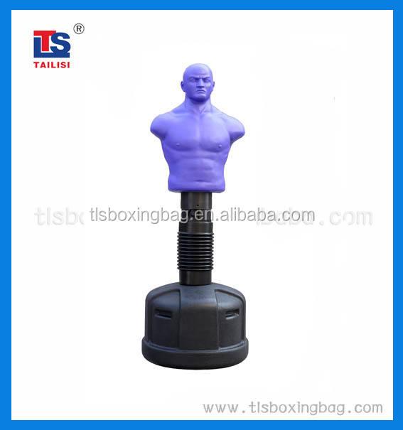 조절 푸른 색 복싱 훈련 대상 펀칭 가방 남자 직접 구입합니다 중국 제조업체