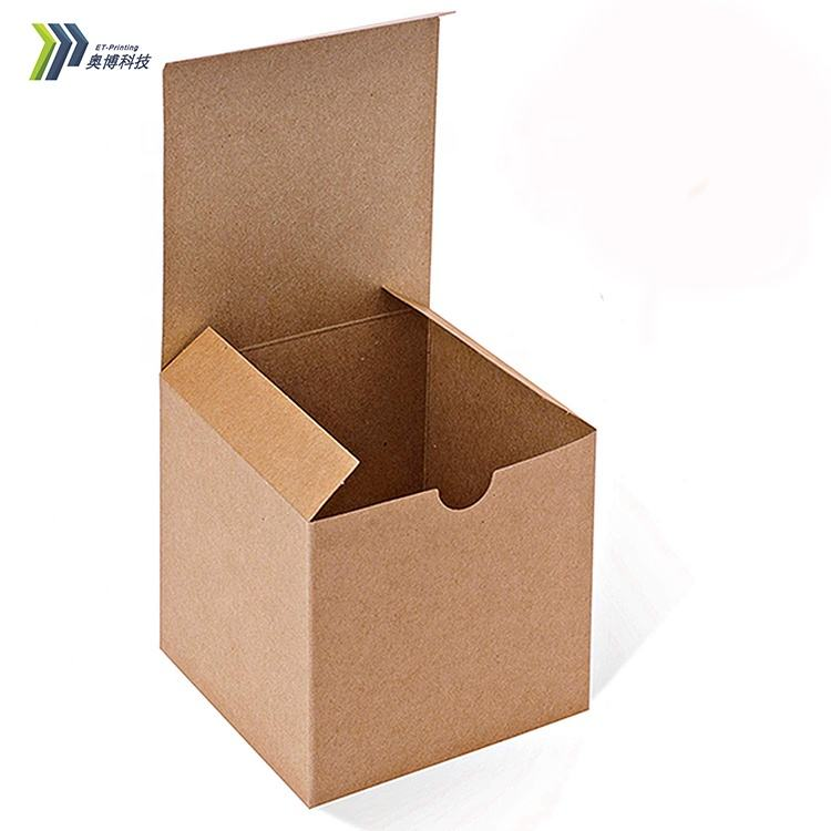 Custom gold foil kraft paper and ivory cardboard glass metal soy wax candle cup bottle packaging boxes luxury