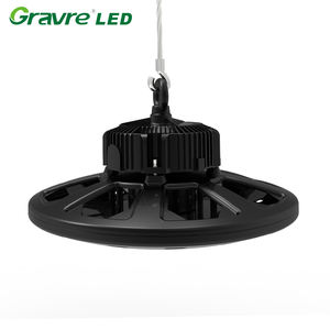 Forma di UFO 100 w 120 w 200 watt dello stadio led high bay luci 150 lumen per watt