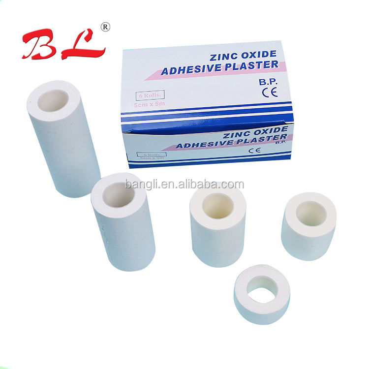 Quality Guarantee Medical adhesive zinc oxide plaster With Metal Tin package
