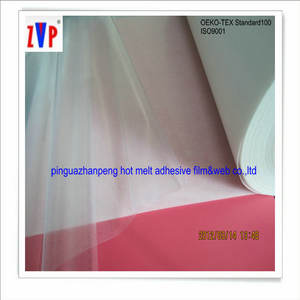 transparent thermo adhesive film double side with glue for Automotive interior