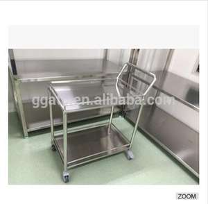 2017 GOGO fashionable cheap stainless steel medical trolley for sale