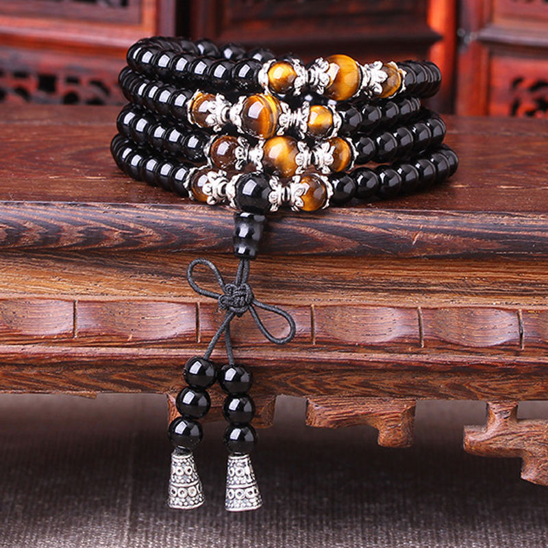 Popular Products 2018 Factory Wholesale 3 Style Bracelet Tibetan 108 Perles